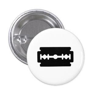 Botón del pictograma de la hoja de afeitar