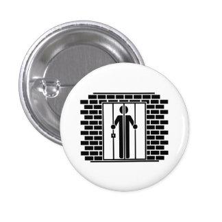 """Botón del pictograma del """"encarcelamiento I"""" Pins"""