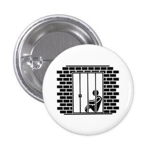 """Botón del pictograma del """"encarcelamiento II"""" Pin"""