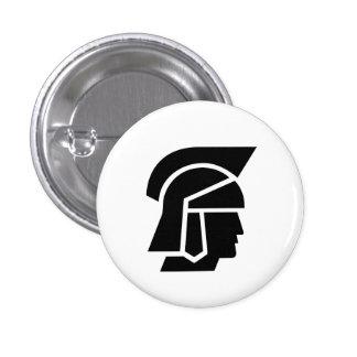 """Botón del pictograma del """"soldado romano"""" pins"""