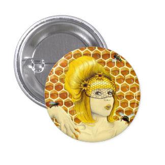 Botón del Pin de la abeja reina - Apiphilia por el