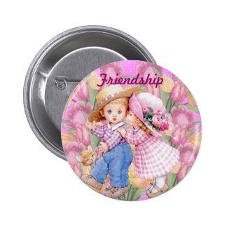 Botón del Pin de la amistad
