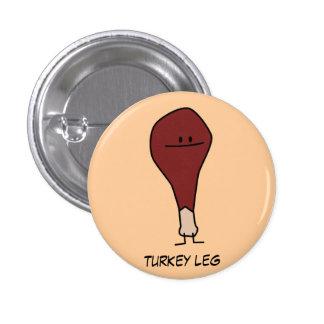 Botón del Pin de la pierna de Turquía
