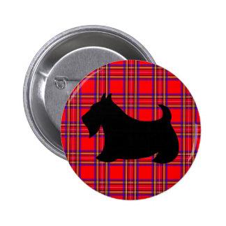 Botón del Pin de Terrier del escocés