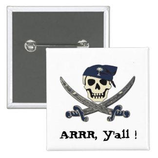 Botón del pirata de Carolina