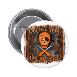 Botón del pirata de Halloween