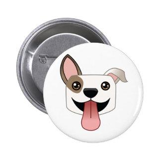 Botón del pitbull pin