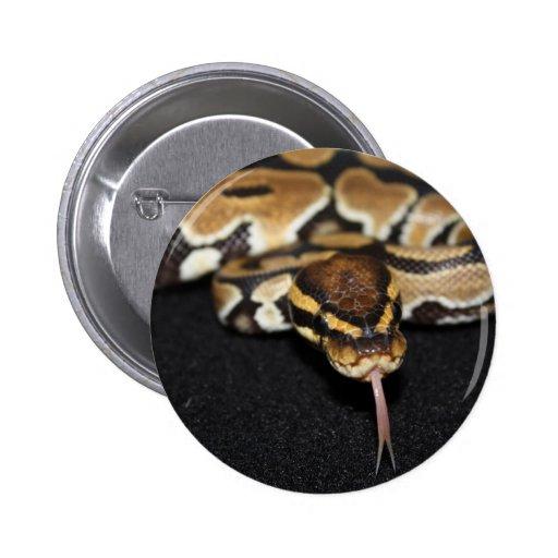 Botón del pitón de la bola pin redondo de 2 pulgadas