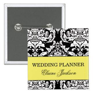 Botón del planificador del boda