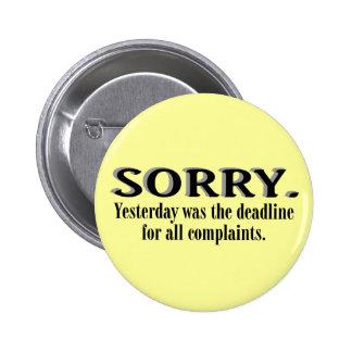 Botón del plazo de las denuncias