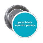 Botón del poeta de Michigan Pins