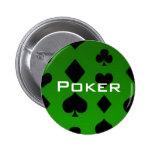 Botón del póker pin