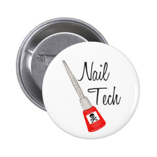Botón del polaco del veneno de la tecnología del c pin redondo de 2 pulgadas