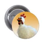 Botón del pollo pin