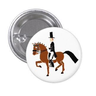 ¡Botón del potro del Dressage! Pin Redondo De 1 Pulgada