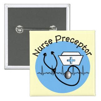 Botón del Preceptor del oficio de enfermera