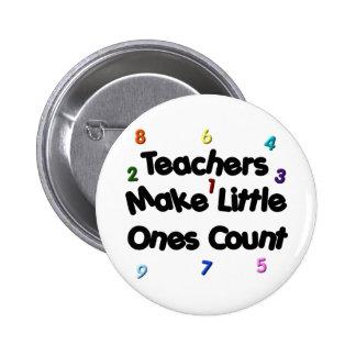 Botón del profesor primario pins
