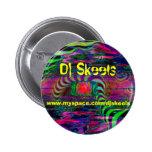 Botón del promo de DJ Skeels Pins