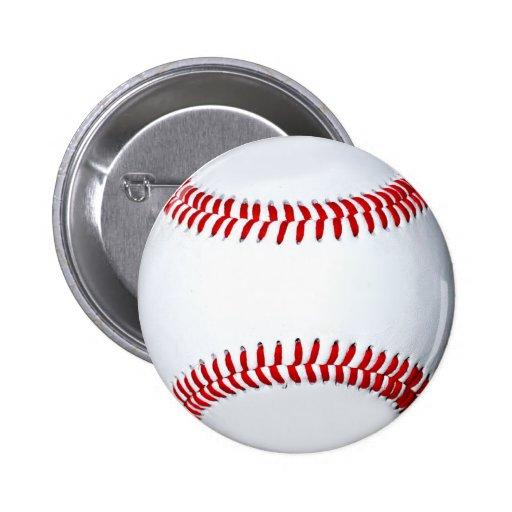 Botón del regalo del béisbol pin