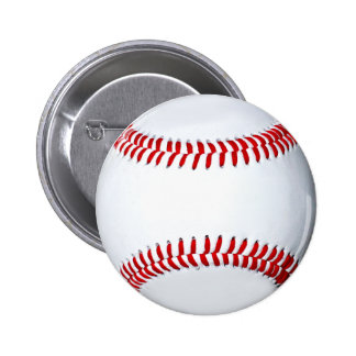 Botón del regalo del béisbol pin redondo de 2 pulgadas