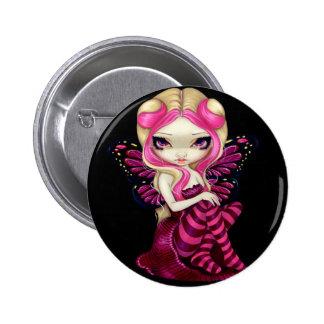 """Botón del """"relámpago rosado"""" pin"""