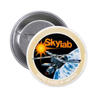 Botón del remiendo de la misión de Skylab Pin Redondo De 2 Pulgadas