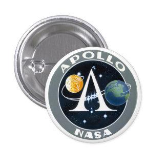 Botón del remiendo de la misión del programa Apoll Pin Redondo De 1 Pulgada