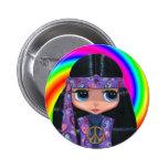Botón del remolino de la muñeca del Hippie de Pais