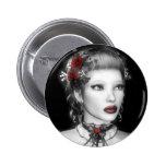 Botón del retrato de BW Pins