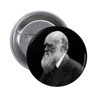 Botón del retrato de Darwin Pins