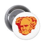 Botón del retrato de Schopenhauer Pins