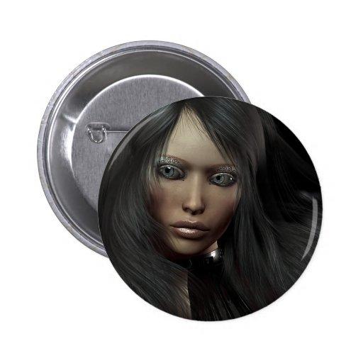 Botón del retrato del Em Pins
