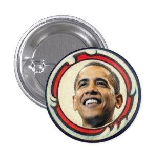 Botón del Retro-Estilo de Obama