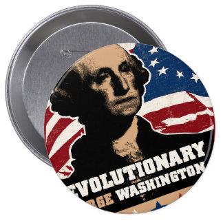 Botón del revolucionario de George Washington Pin