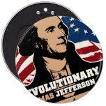 Botón del revolucionario de Thomas Jefferson Pin