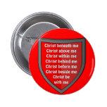 Botón del rezo del peto de San Patricio Pins
