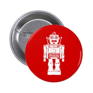 Botón del robot pin redondo de 2 pulgadas