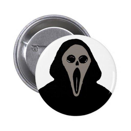 Botón del segador de Halloween Pin