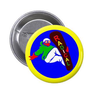 Botón del Snowboarder