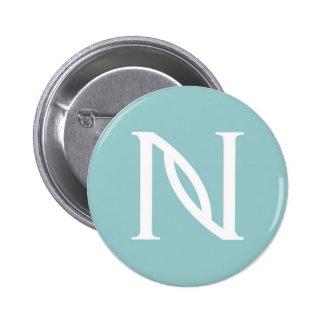 Botón del socio de la marca del Nerium Pin Redondo De 2 Pulgadas
