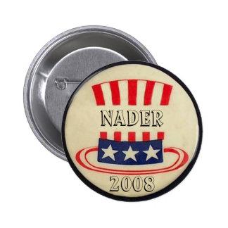 Botón del sombrero de copa del tío Sam de Nader
