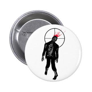 botón del splat del zombi pins
