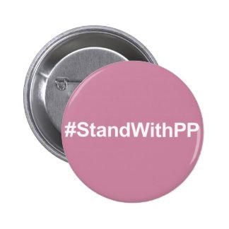 botón del #StandWithPP Pin Redondo De 2 Pulgadas