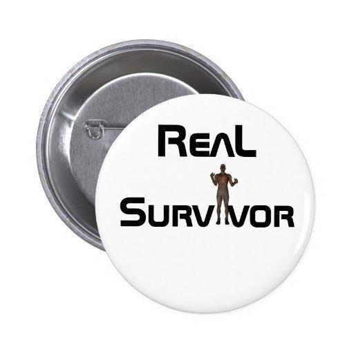 Botón del superviviente pins