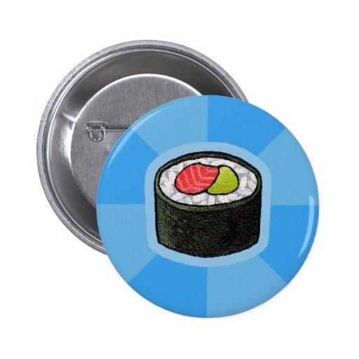 """Botón del sushi de Maki (4"""" o más pequeño solament"""