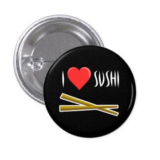 Botón del sushi del corazón I Pins