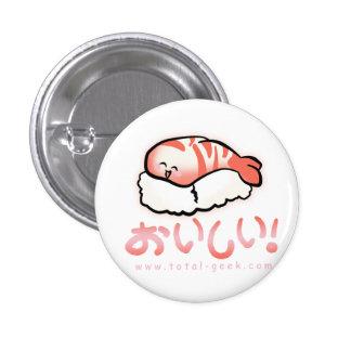 botón del sushi pin