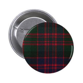 Botón del tartán de Donald del clan