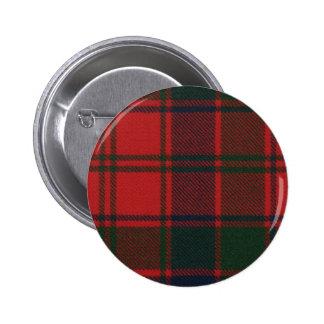 Botón del tartán de Donnachaidh del clan Pin