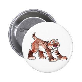 Botón del tigre de Sabretooth Pin